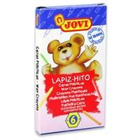 Jovi Plastic Crayons 6 Renk Plastik Pastel Boya
