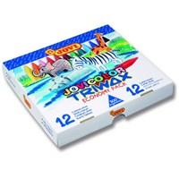 Jovi Triwax 300 Adet Ergonomik Pastel Mum Boya 12 Renk