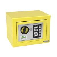 Elektronik Tuşlu Para Kasası - Sarı