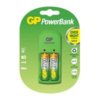 GP Powerbank S-360 Pil Şarj Cihazı GP2700 Şarjlı kalem Pil Hediyeli
