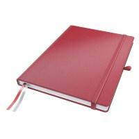 Leitz Complete Defter A6 Çizgili Kırmızı 44800025