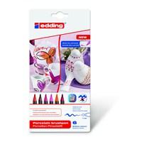 edding 4200 Porselen Kalemi (6'lı Sıcak Renkler)