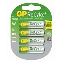 GP 4'lü ReCyko Pro Ni-Mh Şarj Edilebilir AA Kalem Pil 2.000 mAh (GP210AAHCBLL-2U4)