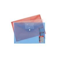 Globox Kartlı Çıtçıtlı Kırmızı Dosya A4 6213