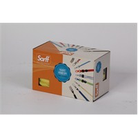 Sarff Metal Klips Bordo Kurdele 50 Ad. 15311207