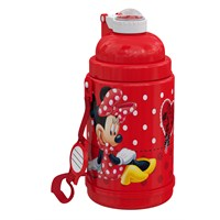 Minnie Mouse Pipetli Çelik Matara (72957)