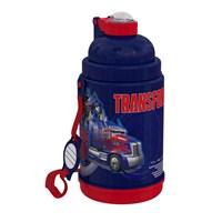 Transformers Pipetli Çelik Matara (52911)