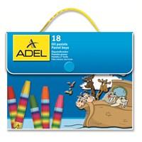 Adel Çantalı Pastel Boya 18 Renk (4281818000)