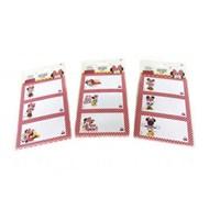 Umur Minnie Mouse Okul Etiketi ( 8x3 )24'Lu