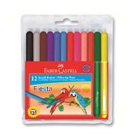 Faber-Castell Fiesta Keçeli Kalem 12'li (5068312450)