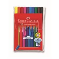Faber-Castell Grip Keçeli Kalem 10'lu Poşet (5068155310)