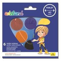 Adeland Jumbo Suluboya 6 Renk (40mm)