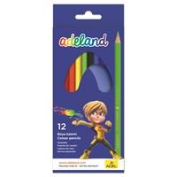 Adeland Karton Kutu Boya Kalemi 12 Renk Tam Boy