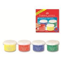 Faber-Castell Parmak Boyası 45 ml.4 Renk