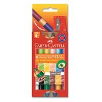 Faber-Castell Çift Taraflı Mum Boya 12 Renk (5281141412)
