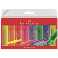 Faber-Castell Şeffaf Gövde Fosforlu Kalem 6+2'li Poşet (5038154662)
