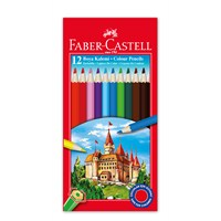 Faber-Castell Karton Kutu Boya Kalemi 12 Renk Tam Boy (5171116312)