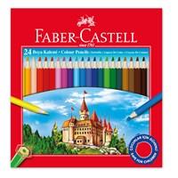 Faber-Castell Karton Kutu Boya Kalemi 24 Renk (5171116324)