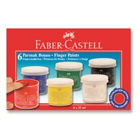 Faber-Castell Parmak Boyası 6 Renk (5170160402)