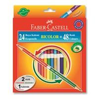 Faber-Castell Bicolor Boya Kalemi 48 Renk (5171120624)