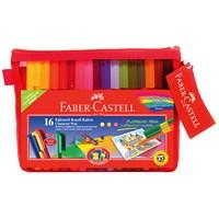 Faber-Castell Eğlenceli Çantalı Keçeli Kalem 16 Renk (5068168820)