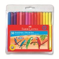 Faber-Castell Fiesta Keçeli Kalem 30'lu (5068350450)