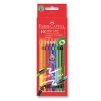 Faber-Castell Grip 2001 Silinebilir Boya Kalemi 10 Renk (5170116613)