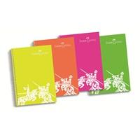 Faber-Castell PP Kapak Seperatörlü 6 Bölüm Krşk.Defter 240 Yaprak (5075400194)