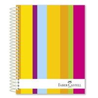 Faber-Castell Sert Kapak Sep.3+1 Renkli Çizgiler Defter 160 Yaprak (5075400403)