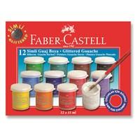 Faber-Castell Simli Guaj Boya 12 Renk (5170160404)