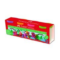 Faber-Castell Su Bazlı Oyun Hamuru 4 Floresan Renk