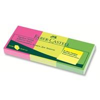 Faber-Castell Yapışkan Notluk 50x40mm Karışık Fosforlu 3 Renk (5089565339)