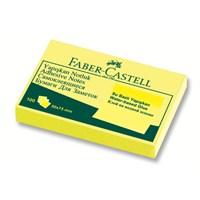 Faber-Castell Yapışkan Notluk 50x75mm Sarı (5089565601)