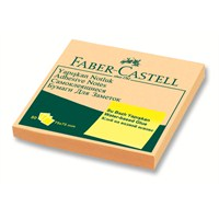 Faber-Castell Yapışkan Notluk Harmony 75x75mm, Krem (5089585403)