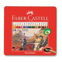 Faber-Castell Metal Kutu Boya Kalemi 24 Renk (5170115845)