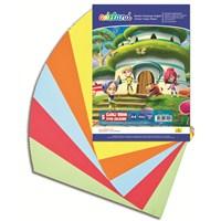 Adeland Renkli Fotokopi Kağıdı 5 Canlı Renk, 100'lü