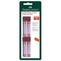 Faber-Castell 4 Polymer Fine Min 0,5mm 2B 75mm (5600127520)