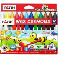 Fatih 12 Renk Jumbo Wax Crayon