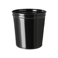 Evmanya Haus Çok Amaçlı Metal Çöp Kovası Siyah