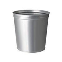 Çok Amaçlı Metal Çöp Kovası Gri