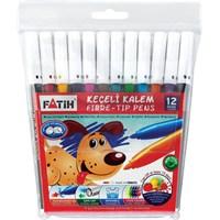 Fatih Keçeli Boya Kalemi 12 renk