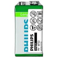Philips PH-6F22L1F/10 Longlife 9v Tekli Pil