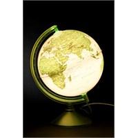 Gürbüz Işıklı Dünya Küresi 26cm (Yeşil)
