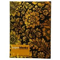 Paperblanks Pb-3-1040-5 Midnight Gold Midi Çizgili Defter