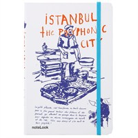 Scrikks A5 İstanbul Balıkçı Çizgili