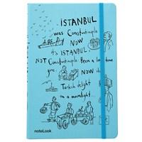 Scrikks A5 İstanbul Galata Çizgili