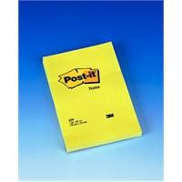 3M Post-it® Not, Sari, 100 yaprak, 102x152mm,