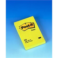 Post-it® Not, Sari, 100 yaprak, 51x76mm