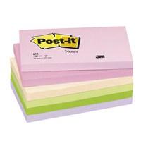 3M Post-it® Not, Floral Serisi, Pastel Tonlari, 6 renk x 6 blok, 100 yaprak, 76x127mm