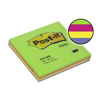 3M Post-it® Not, Bahar, Yesil Tonlari, 4 renk x 25 yaprak, 100 yaprak, 76x76mm